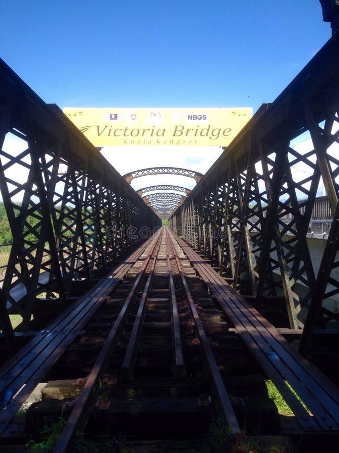 Victoria-Brücke lizenzfreies stockbild