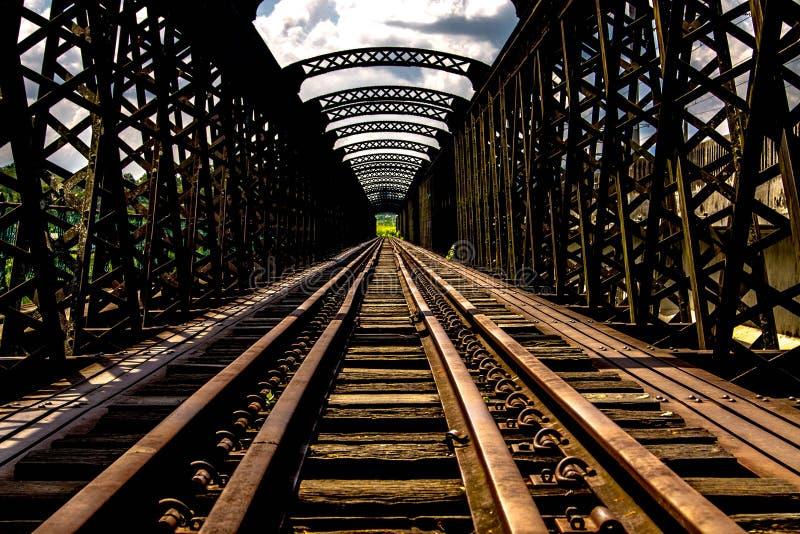 Victoria-Brücke stockfotos