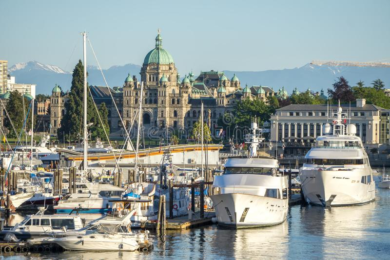 Victoria british columbia canada scenery in june. Victoria british columbia canada  scenery in june royalty free stock photography