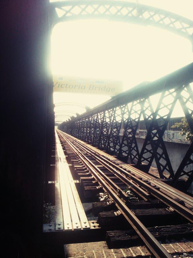 Victoria-brug stock foto