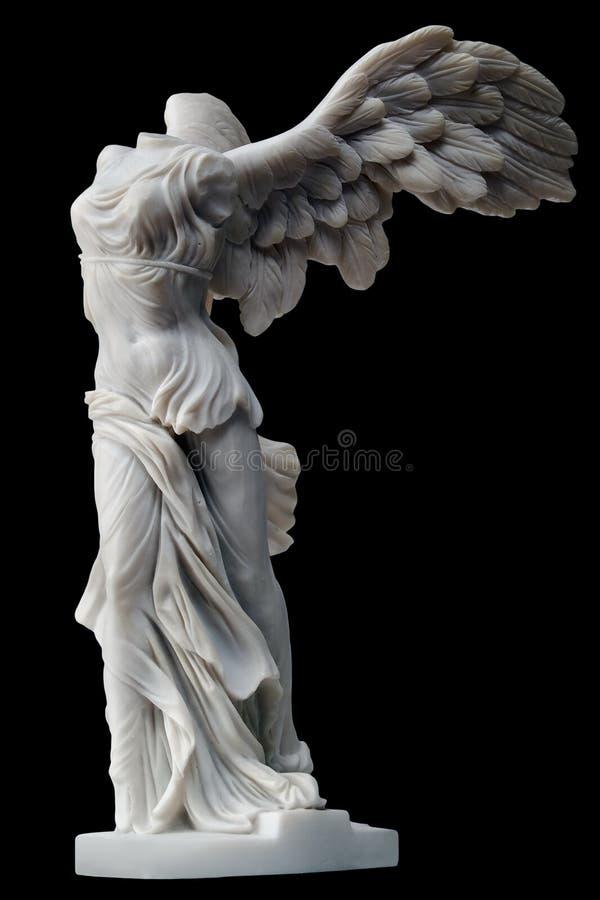 Victoria coa alas imagen de archivo libre de regalías