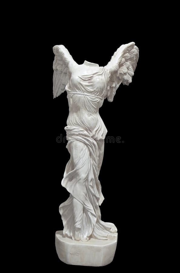 Victoria coa alas de Samothrace fotos de archivo libres de regalías