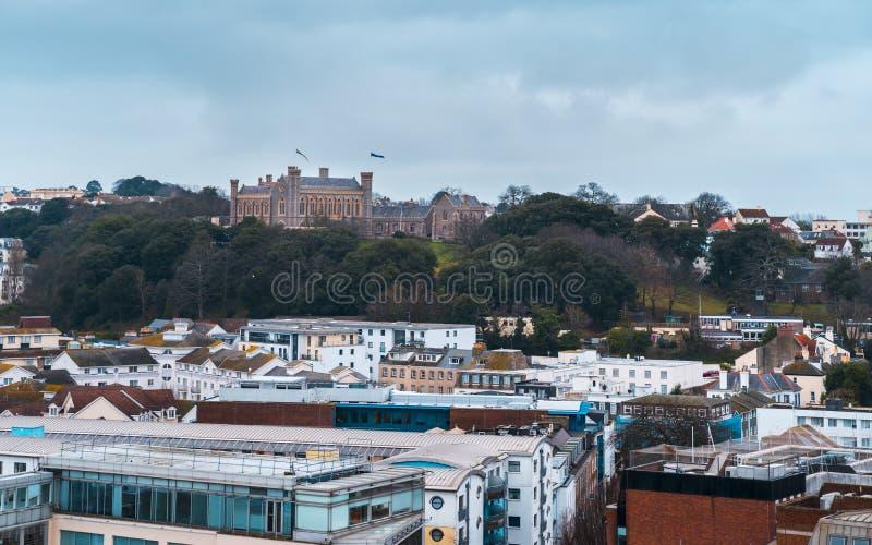 Victoria College, St Helier, jérsei fotos de stock royalty free