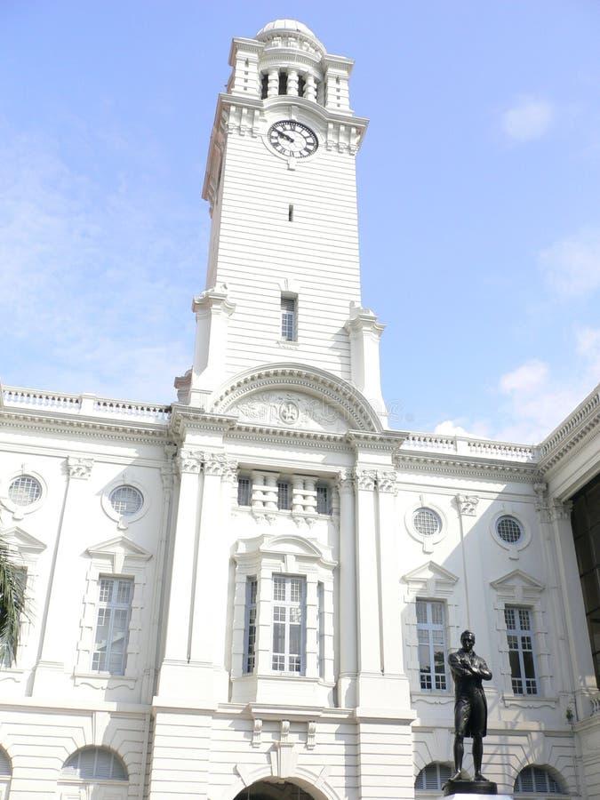 Victoria corridoio commemorativo di Singapore fotografie stock