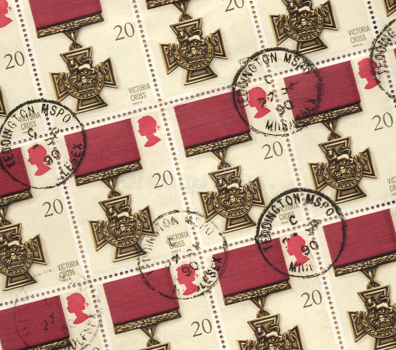 Victoria Cross Medal - Postage Stamps
