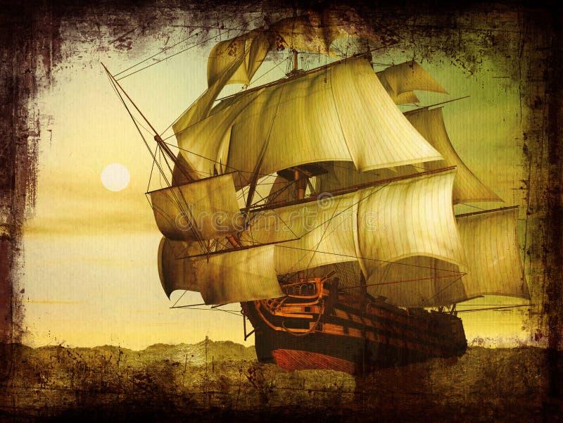 Victoria del HMS ilustración del vector