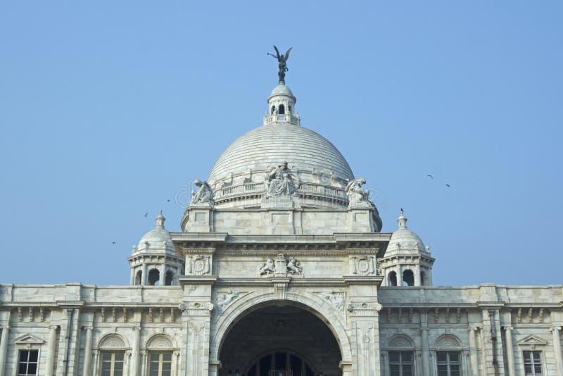 Victoria-Denkmal in Kolkata lizenzfreie stockbilder