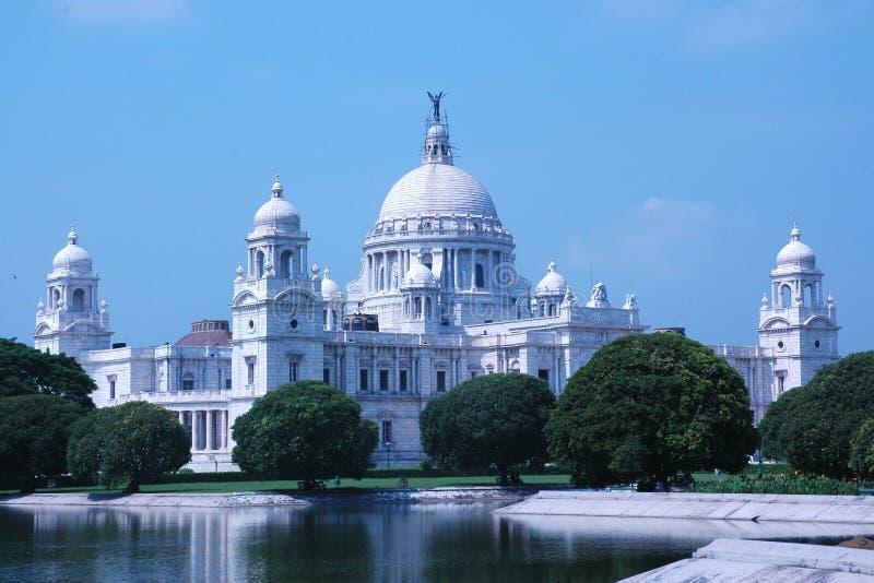 Victoria-Denkmal, Kolkata (Kalkutta), Indien lizenzfreie stockfotos