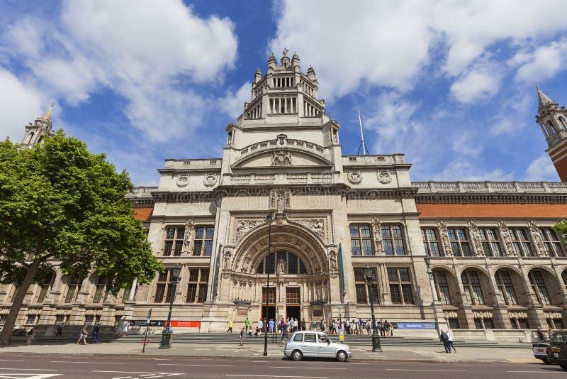 Victoria e Albert Museum, Kensington sul, Londres, Reino Unido imagens de stock