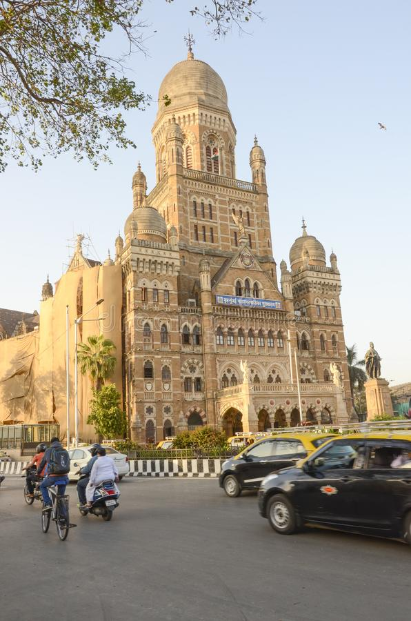 Victoria-eindpuntpost, Mumbai, India royalty-vrije stock afbeeldingen
