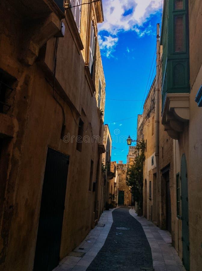 Victoria em Gozo, Malta foto de stock royalty free