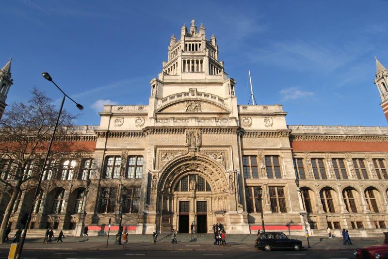 Victoria en Albert Museum royalty-vrije stock afbeelding