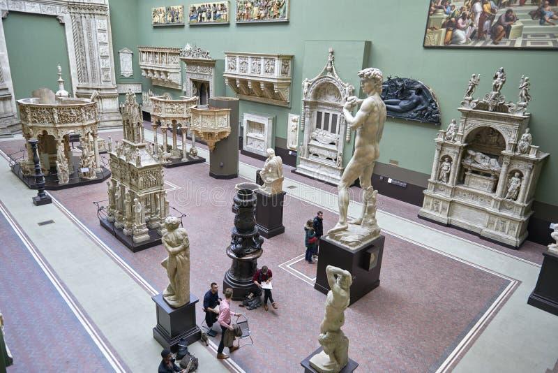 Victoria et Albert Museum photo libre de droits