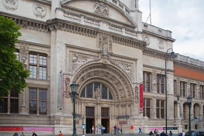 Victoria et Albert Museum photo stock