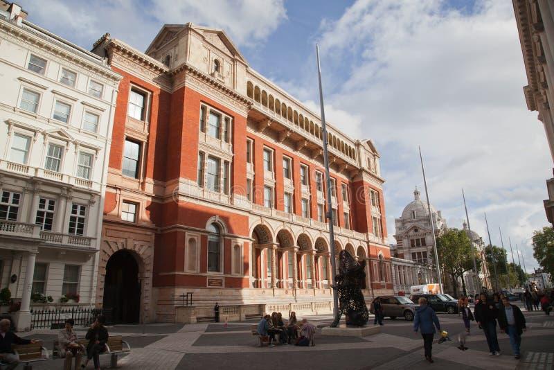 Victoria et Albert Museum dans Kensington, Londres image stock