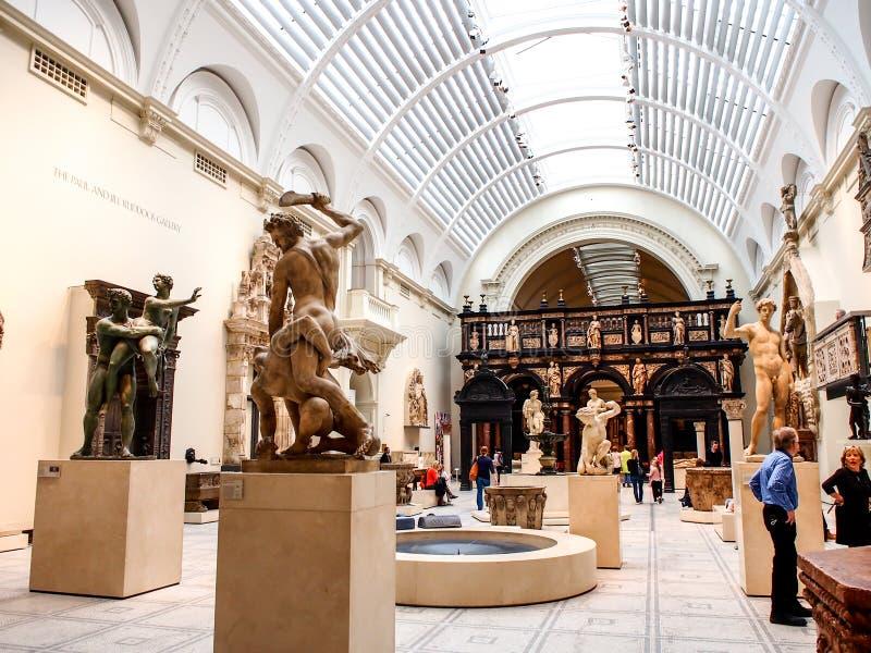 Victoria et Albert Museum, Londres, R-U photo stock