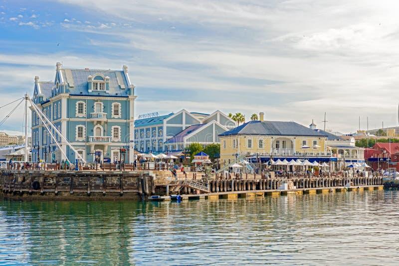 Victoria et Alfred Waterfront à Cape Town, Afrique du Sud image libre de droits