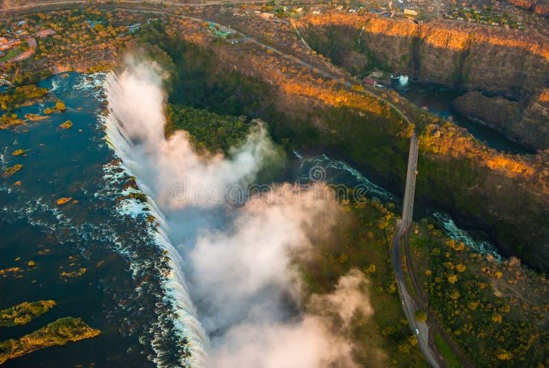 Victoria Falls天线 库存图片