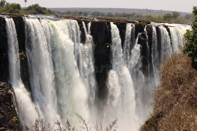 Victoria Falls,津巴布韦 库存照片