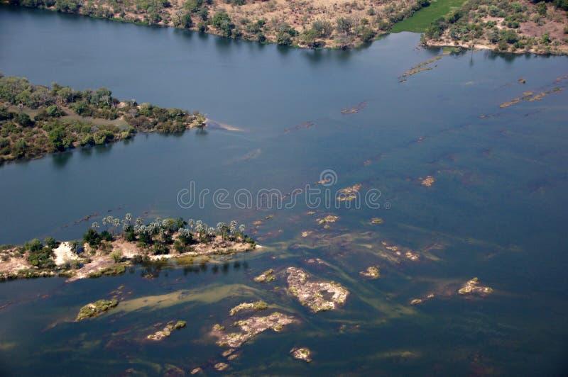 Victoria Falls, Ζιμπάμπουε στοκ φωτογραφίες