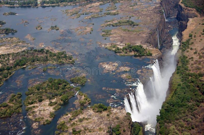 Victoria Falls, Ζιμπάμπουε στοκ φωτογραφίες με δικαίωμα ελεύθερης χρήσης