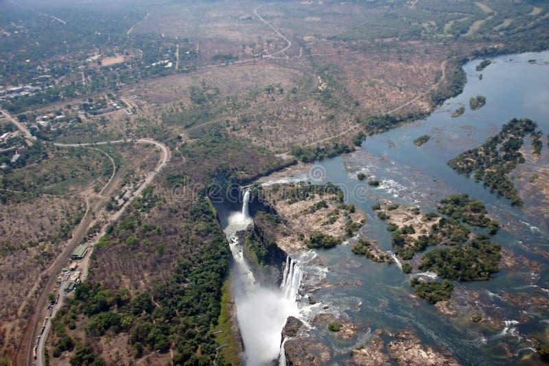 Victoria Falls, Ζιμπάμπουε στοκ εικόνες