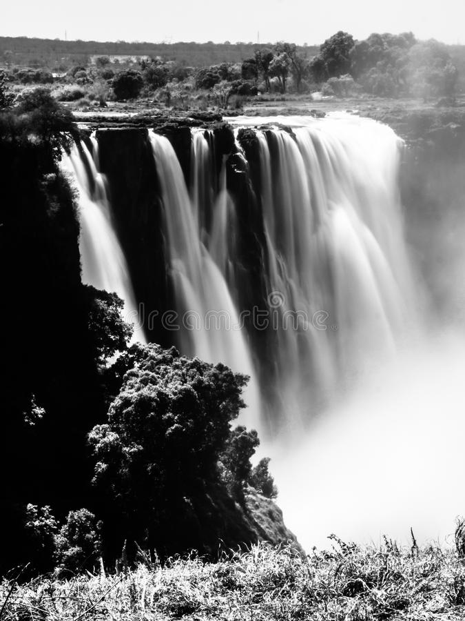 Victoria Falls που θολώνεται στοκ φωτογραφίες με δικαίωμα ελεύθερης χρήσης