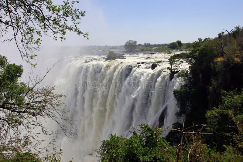 Download Victoria Falls stock image. Image of falling, world, victoria - 12149235
