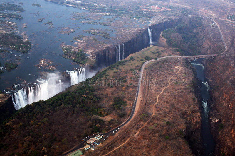 Download Victoria falls stock image. Image of victoria, africa - 14907389