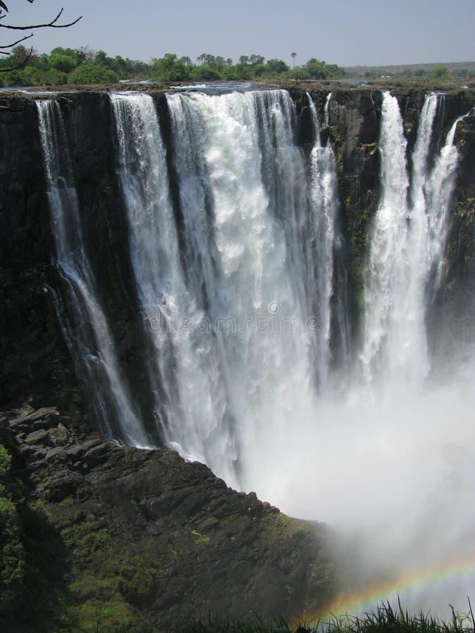 Victoria Falls 2 foto de stock royalty free