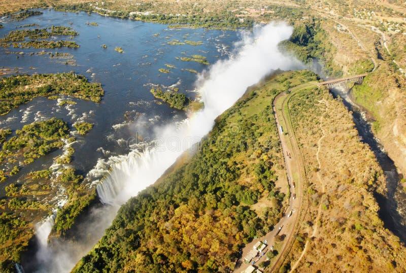Victoria Falls immagine stock