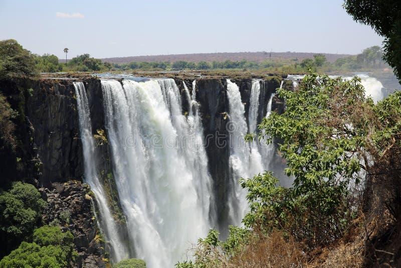 Victoria Falls foto de stock royalty free