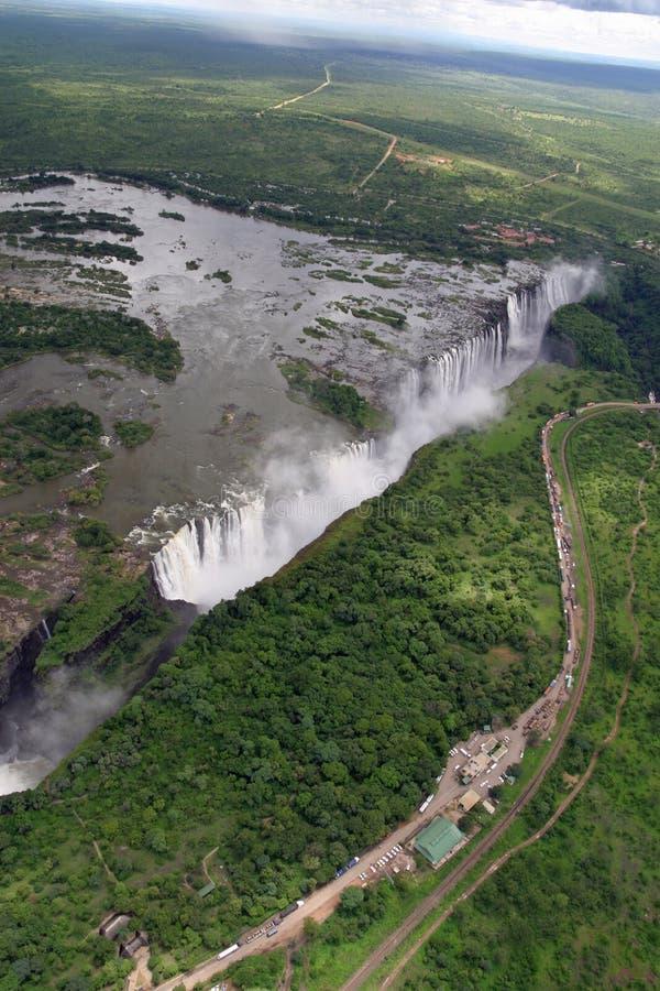 Victoria Falls immagini stock libere da diritti