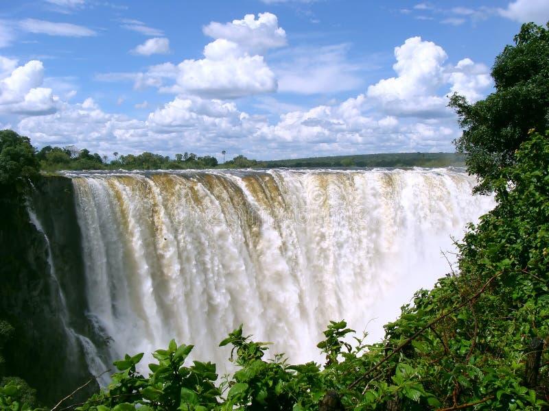 Victoria Falls stockbild