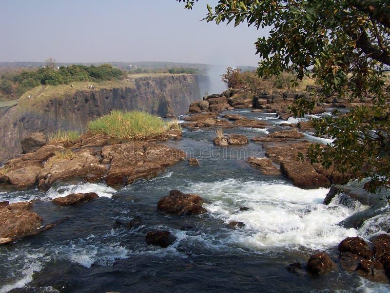 Victoria Falls stockbilder