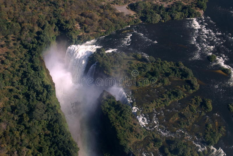 Download Victoria Falls Aerial Stock Images - Image: 19919524