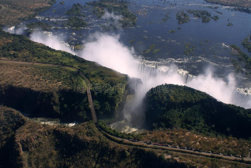 Download Victoria Falls Aerial Royalty Free Stock Photo - Image: 19919535