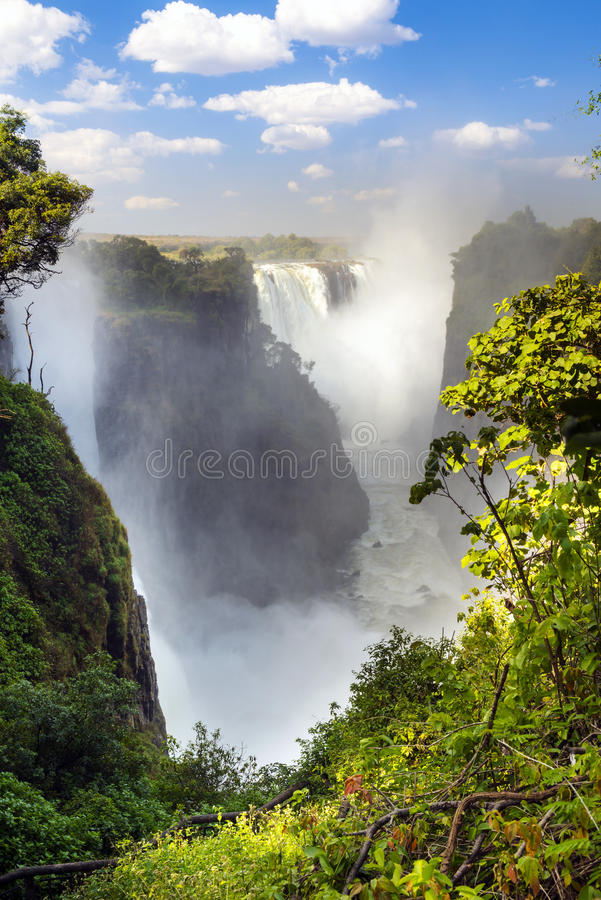 Victoria Falls Africa royalty-vrije stock afbeelding