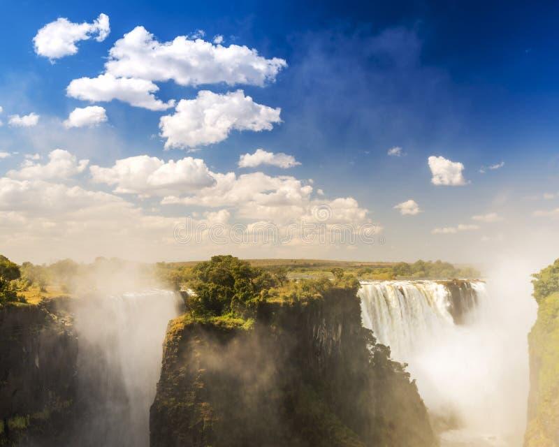 Victoria Falls Africa foto de archivo