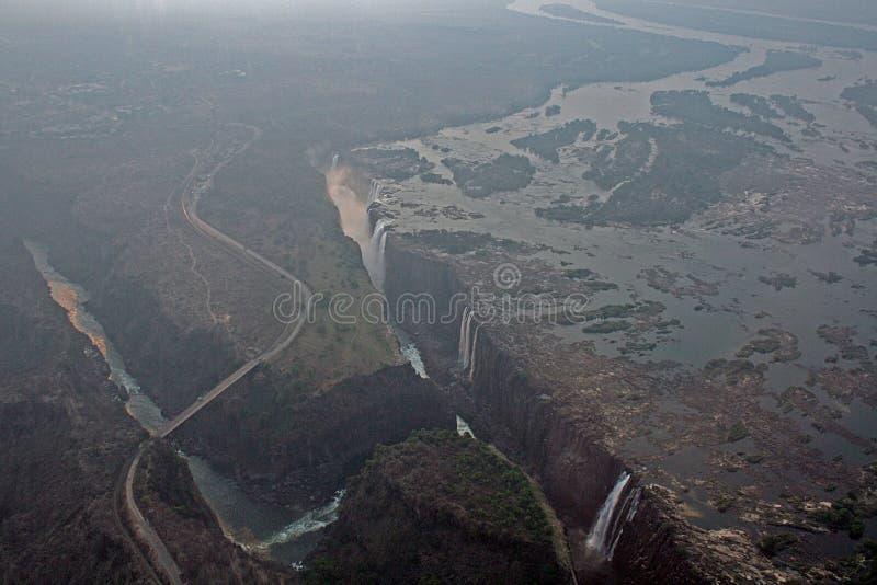 Victoria Falls Africa foto de stock