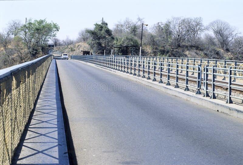 Victoria Falls-brug, Zimbabwe royalty-vrije stock afbeeldingen