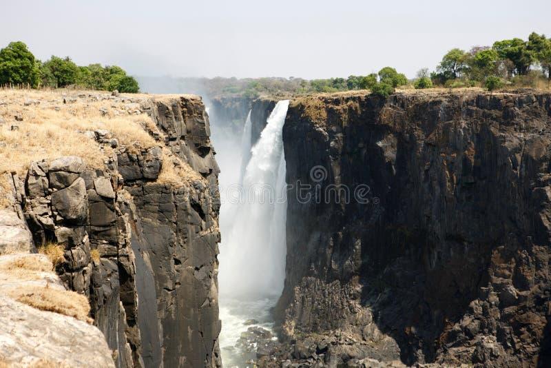 Victoria Falls de la tapa imagen de archivo
