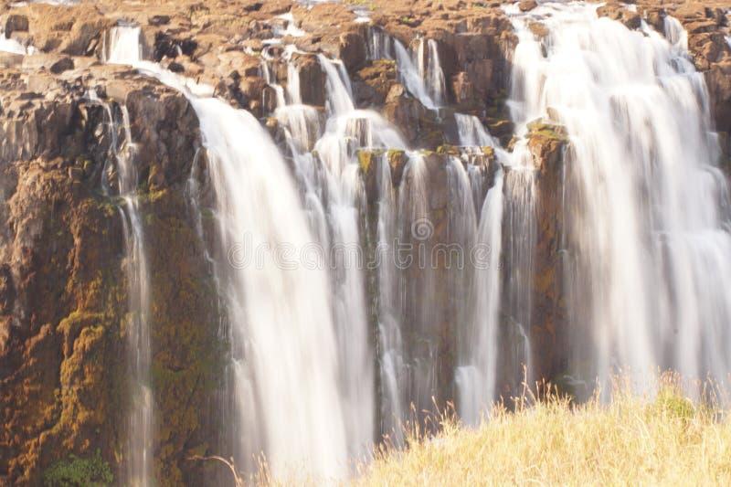 Victoria Falls en Zimbabwe imagenes de archivo