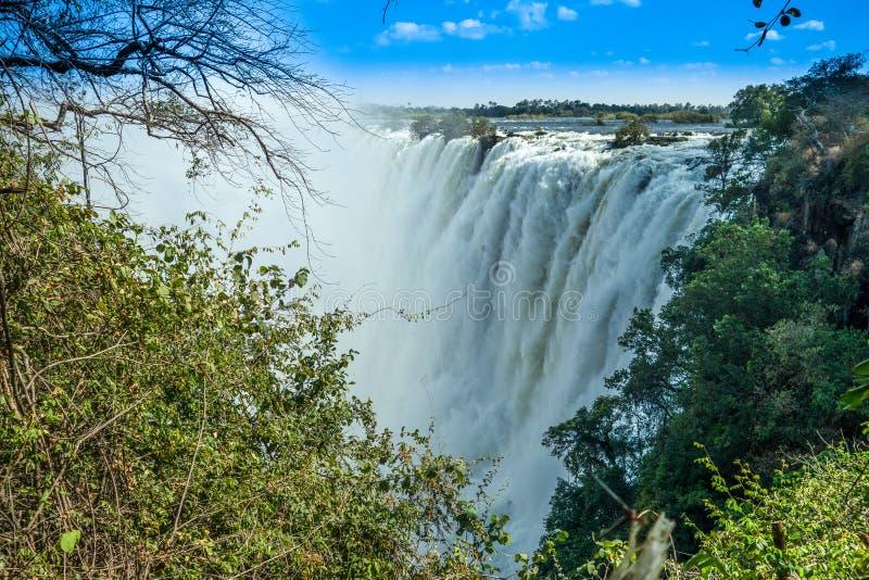 Victoria Falls Livingstone Zambia photo libre de droits