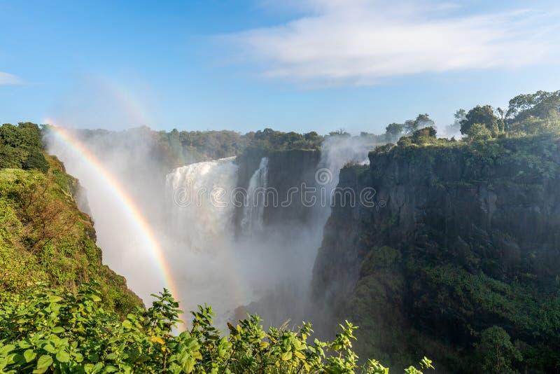 Victoria Falls National Park fotografia stock