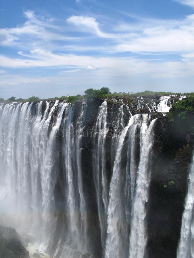 Download Victoria Falls On A Nice Day Stock Photo - Image: 23713560