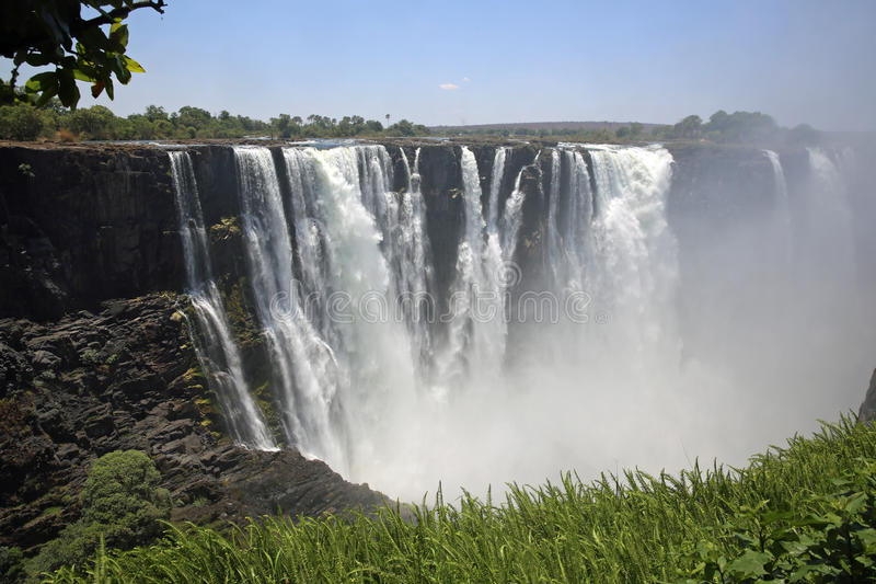 Download Victoria Falls stock photo. Image of landscape, blue - 35871814