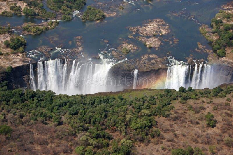 Victoria Falls, Simbabwe stockfotos
