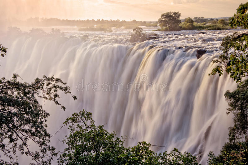 Victoria Falls, Zambia fotografía de archivo