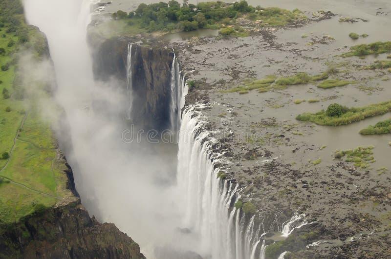 Victoria Falls - Zambia/Zimbabwe royalty-vrije stock foto